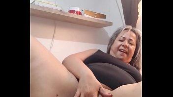 Coroa Muito Gata No Pornô Dando Sua Buceta Para O Amante Careca